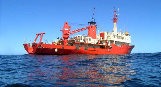 Resultado de imagen de buque oceanográfico Puerto Deseado